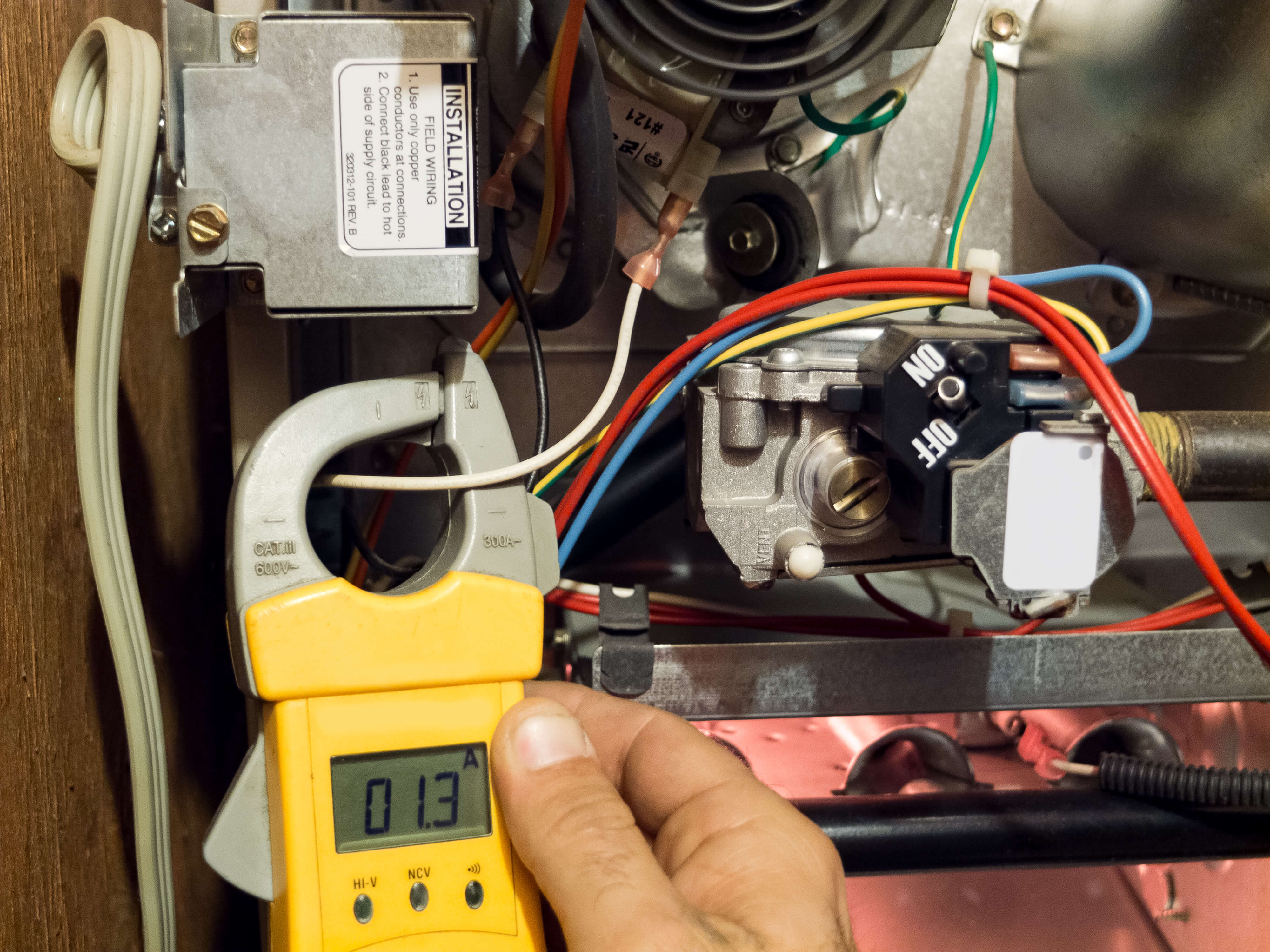 furnace inspection in Kingston by North Shore Home Energy